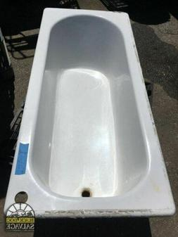 "1916 Kohler Drop In Bathtub, Cast Iron Tub, 68"", Estate Salv"
