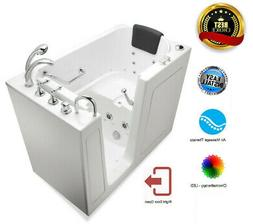 """30""""x 52"""" Premium AIR Therapy Walk In Bath Tubs - Right Door"""