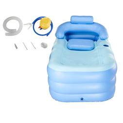 Blow up Adult PVC Portable Bathtub Inflatable Bath Tub Air P