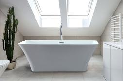 Freestanding Bathtub | White 67"