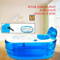 Inflatable Adult Bath Bathtub PVC Portable Foldable Indoor B