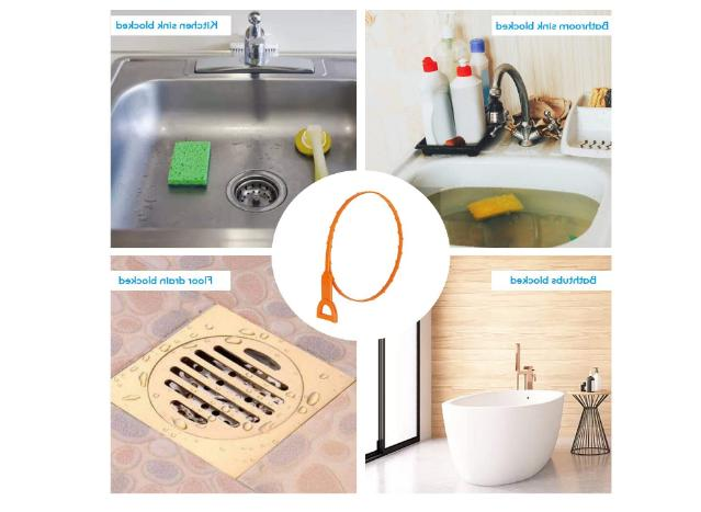 10Pack Clog Drain Cleaning for