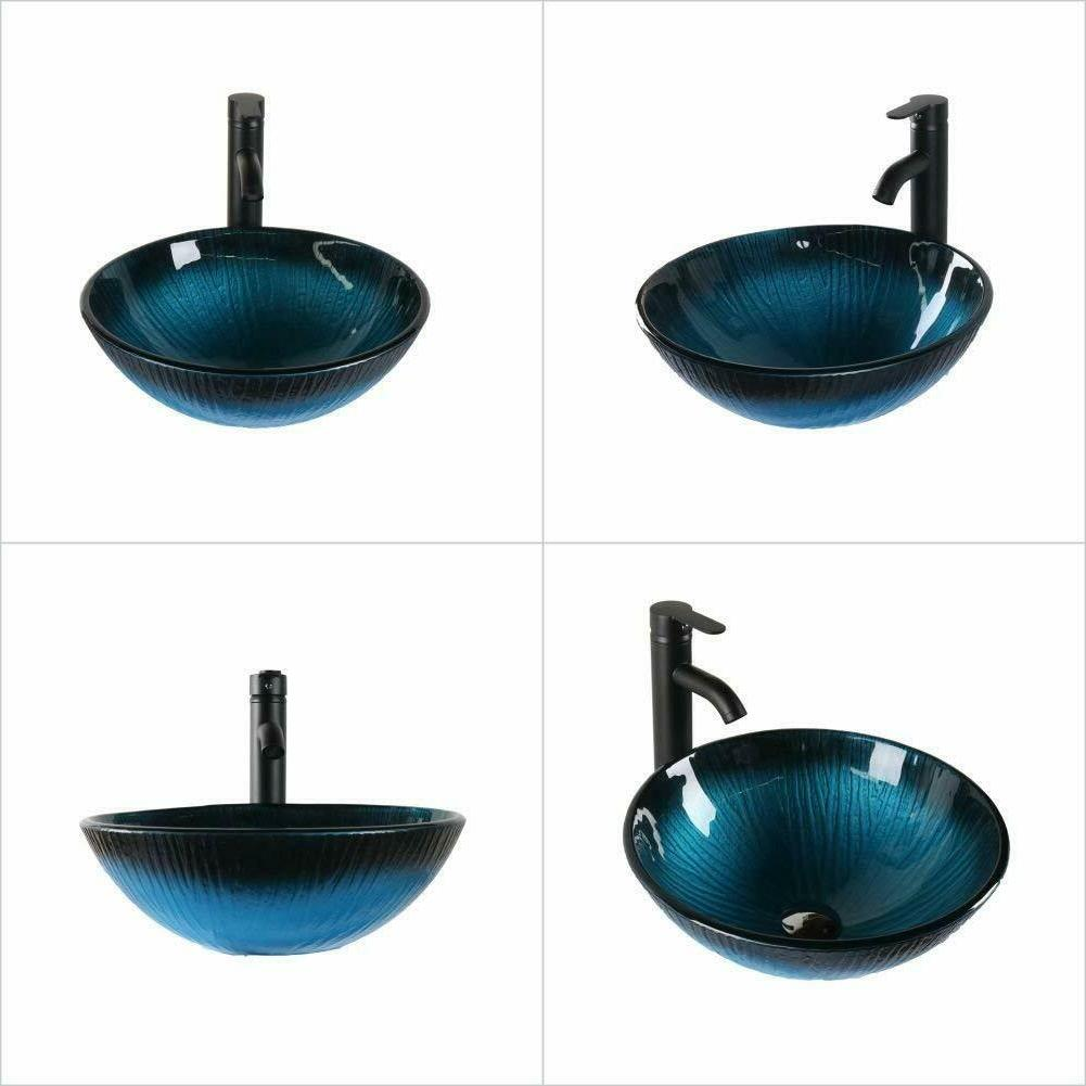 Tempered w/Faucet&Drain