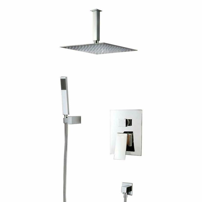 ceiling mounted shower faucets sets complete