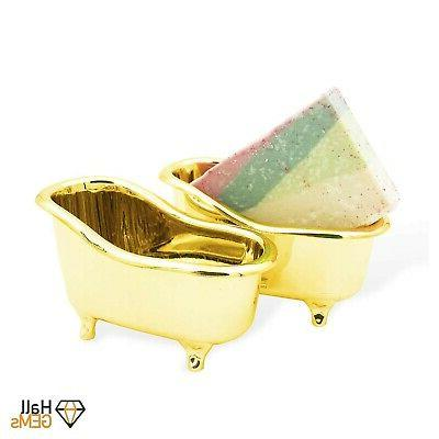 Gold Accessories Used Holder, Dish,