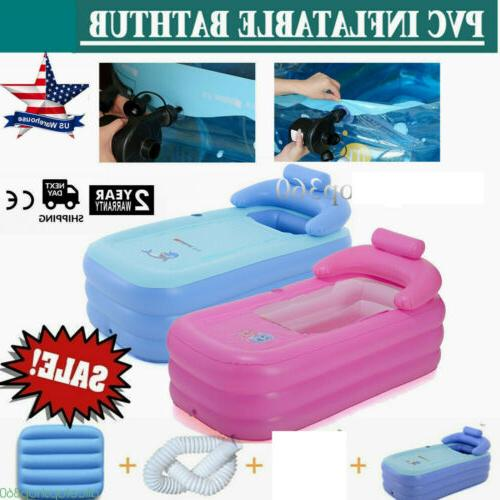 new blowup adult spa pvc folding portable