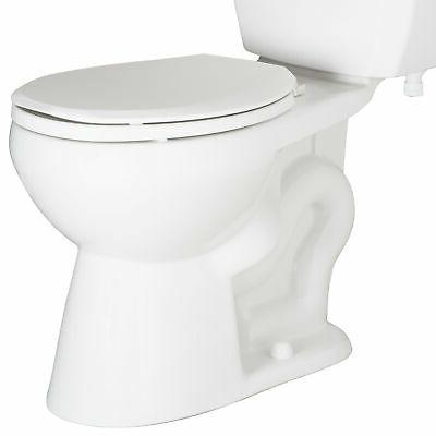 pf1500 round front toilet bowl only white