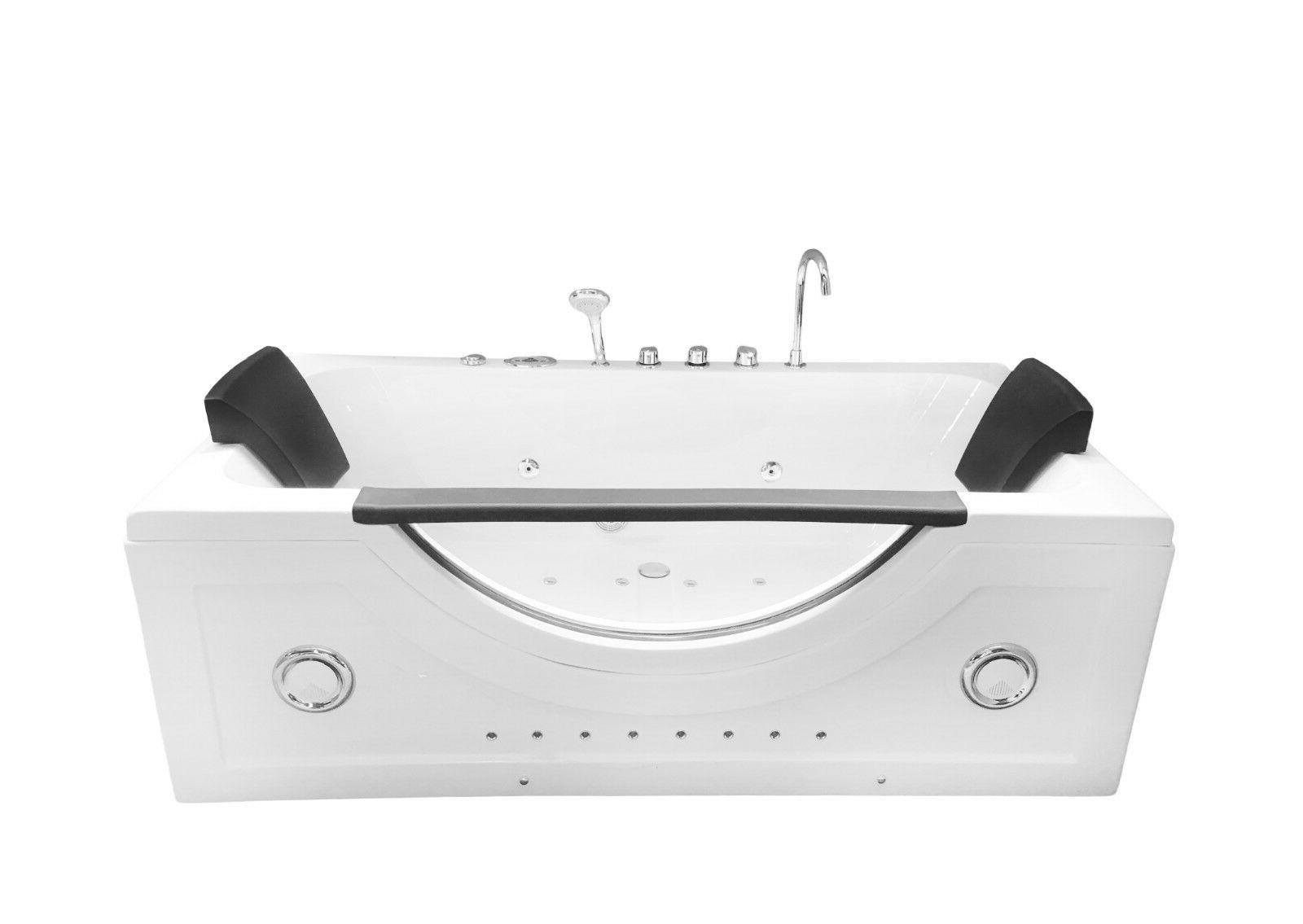 Whirlpool massage bathtub hot 2 two person
