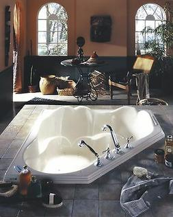 Orphee Tub : Deep drop-in bath with seats, by Neptune OR54
