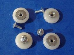 Sliding Tub and Shower Door Replacement Rollers 4 Pack