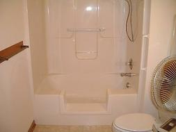 Walk-In Bath To Shower Step Thru Insert DIY Conversion Kit S