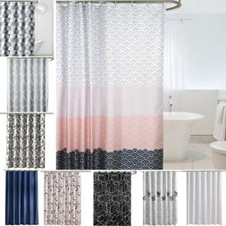 Waterproof Fabric Bathroom Bath Shower Curtain Decor with ho